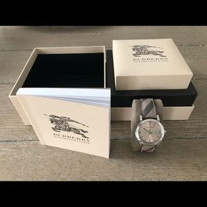 Authentic Burberry Ladies Watch LIKE NEW